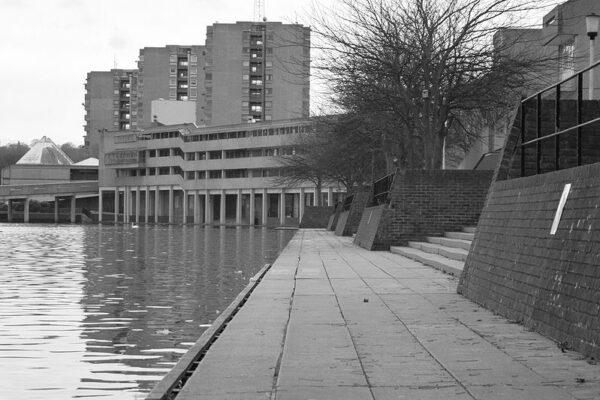 buildings in Thamesmead, London